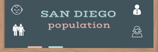San Diego population